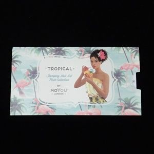MoYou London Tropical 31 Plate - New